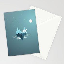 Low Poly Polar Bear Stationery Cards