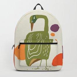 Quirky Brolga Backpack