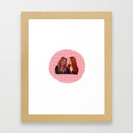 choni Framed Art Print