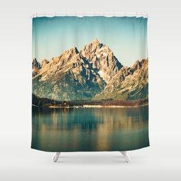 Mountain Lake Escape Shower Curtain