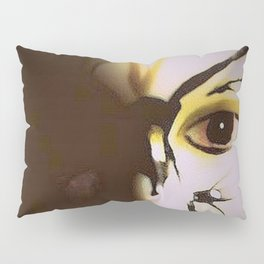 Doll In Color Pillow Sham