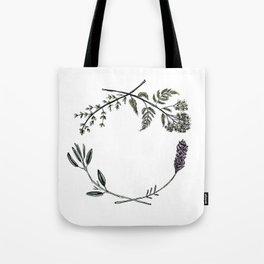 Yarrow, Sage, Lavender, Thyme Tote Bag