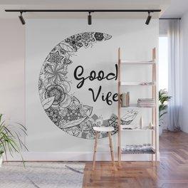 Mandala good vibes By Sonia H. Wall Mural