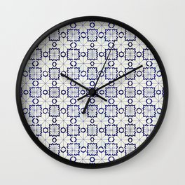 Storytile Porto, Portugal Wall Clock