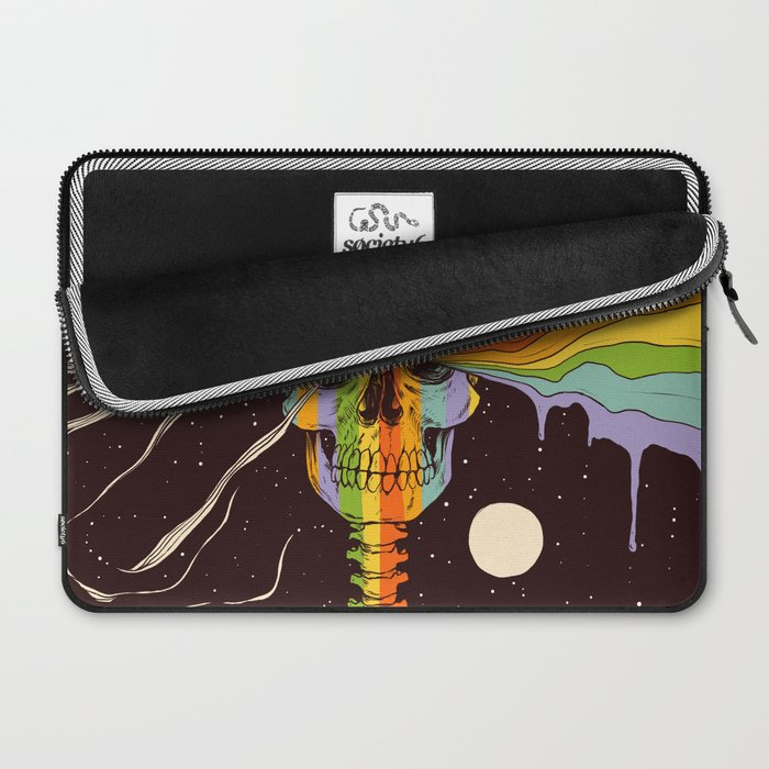 Dark Side of Existence Laptop Sleeve