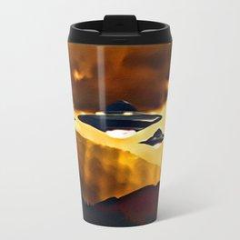 Alien Craft at Sunset Travel Mug