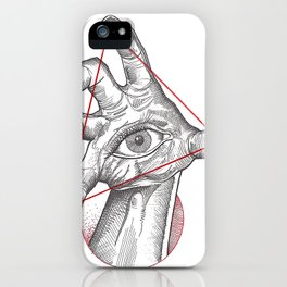 Our fate in whose hand? iPhone Case