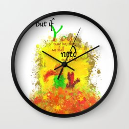The Little Prince | Quotes | But if you tame me, then we shall need each other. Part 1 of 3 | #B2 Wall Clock