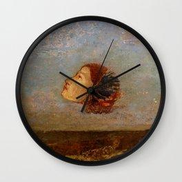 "Odilon Redon ""Hommage a Goya"" Wall Clock"