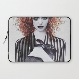 Miss Emma & Her Bunny Laptop Sleeve