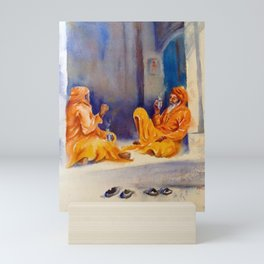 Indian Sadhu Mini Art Print