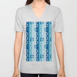 Hanukkah star of david Unisex V-Neck
