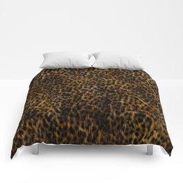 Cheetah Fur Texture Comforters