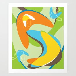 Boomerama Art Print