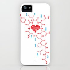 The chemistry of love iPhone (5, 5s) Slim Case