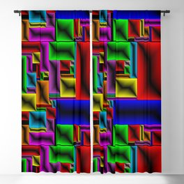 ColorBlox - Hammered Blackout Curtain