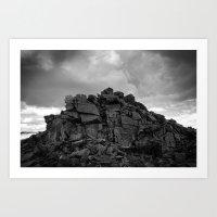 mighty earth Art Print