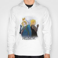 fullmetal Hoodies featuring Fullmetal by Witchy