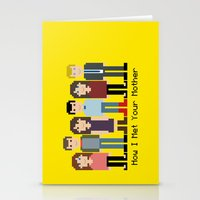 how i met your mother Stationery Cards featuring How I Met Your Mother by Evelyn Gonzalez