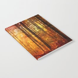 Forest Glow Notebook