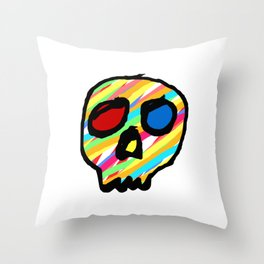 memento mori aureus Throw Pillow