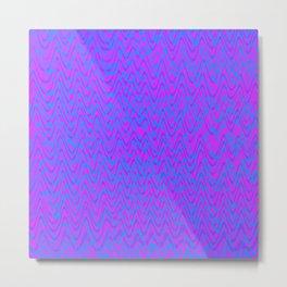 color waves 2 Metal Print