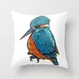 L'il Lard Butt - The Kingfisher Throw Pillow