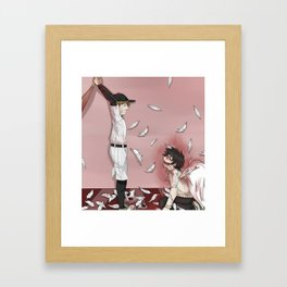 "OFF ""batter and Zacherie, final battle"" Framed Art Print"