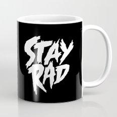 Stay Rad (on Black) Mug