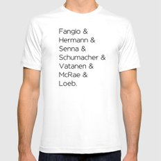 Greatest Ever White Mens Fitted Tee MEDIUM