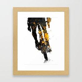 Cycling Bike sport art #cycling #sport Framed Art Print