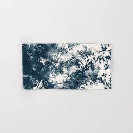 Blue Leaves #1 Hand & Bath Towel