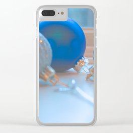 Shimmering Ornaments Clear iPhone Case