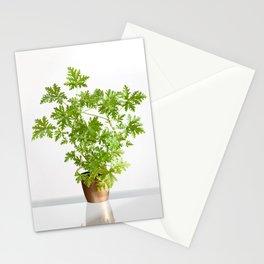 Pelargonium citrosum plant Stationery Cards
