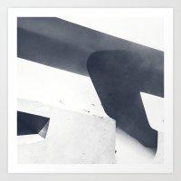 Inversions_07 Art Print