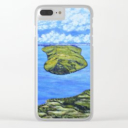 Bluff Point at Keuka Lake Clear iPhone Case