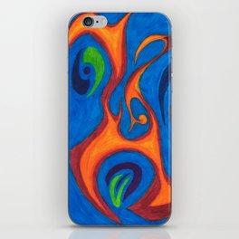 Yelling Fire iPhone Skin
