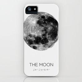 La Lune iPhone Case