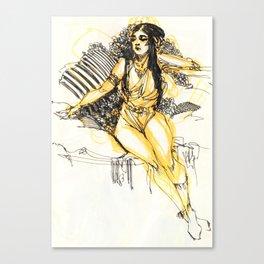 The Queen Canvas Print
