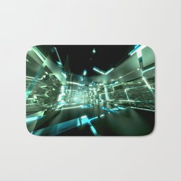 Emerald Tunnels no2 Bath Mat
