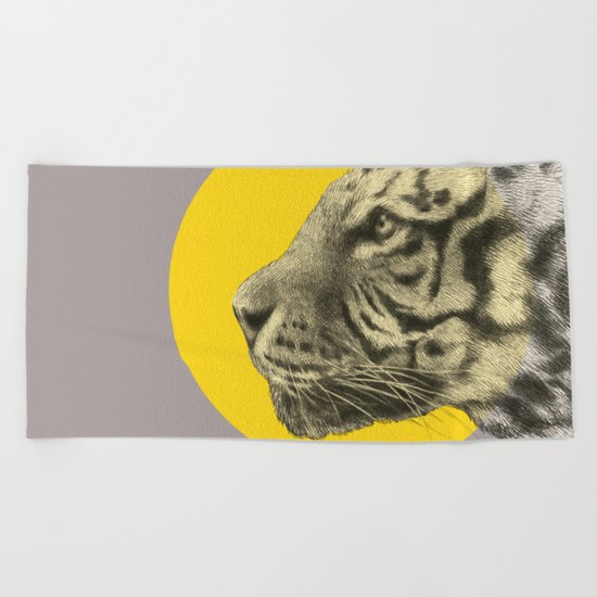 Wild 4 - by Eric Fan and Garima Dhawan Beach Towel
