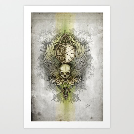 Wings Of Time Art Print