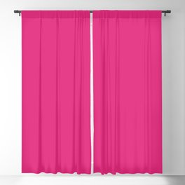 Pink Lemonade Simple Solid Color All Over Print Blackout Curtain