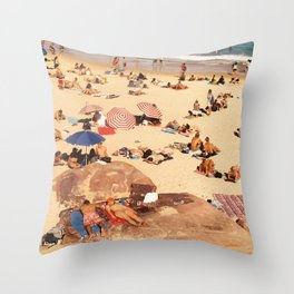 FOREVER BONDI #1 Throw Pillow