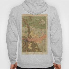Map of Spokane 1898 Hoody