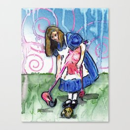 Alice II Canvas Print