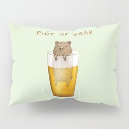 Pint of Bear Pillow Sham