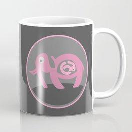 Pregnant Elephant Coffee Mug