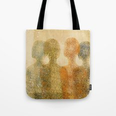 four figures Tote Bag
