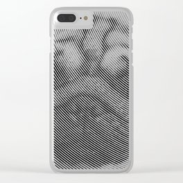 Pug Face Clear iPhone Case